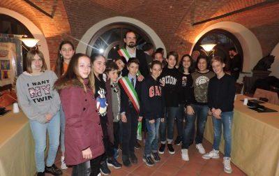 Consiglio dei ragazzi di Castiglione,  il giuramento del sindaco junior