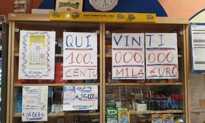 Gratta e Vinci, vinti 100 mila euro in tabaccheria