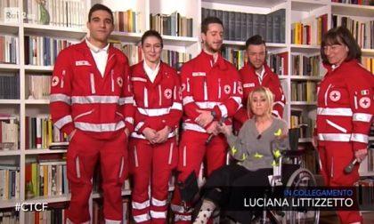 I ragazzi della Croce Rossa in diretta con Luciana Littizzetto