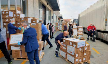 Emergenza Coronavirus: arrivati gli aiuti dalla Cina – LE FOTO