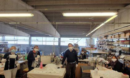 Azienda castiglionese riconverte la produzione per realizzare  mascherine: parte la raccolta di fondi, serviranno per acquistare il tessuto