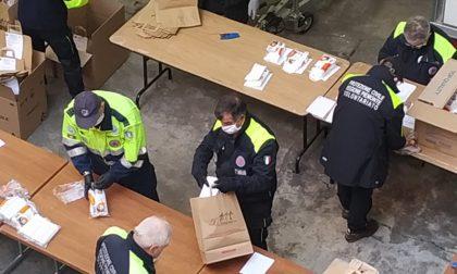 Coronavirus, per il Coordinamento di Protezione Civile di Torino oltre 2700 interventi dall'inizio dell'emergenza. FOTO
