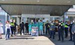 Dalla Protezione Civile uova di Pasqua per i bambini dell'ospedale Regina Margherita. LE FOTO