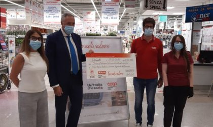 Nova Coop, i dipendenti donano un'ora alla Croce Rossa