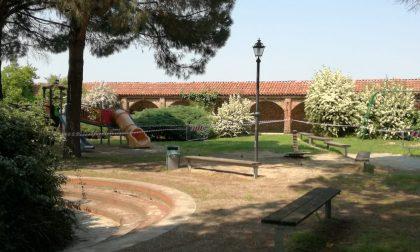 Parco del chiostro chiuso dall'11 al 19 febbraio