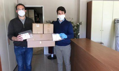 Distribuzione delle mascherine ai bambini dai 3 ai 6 anni