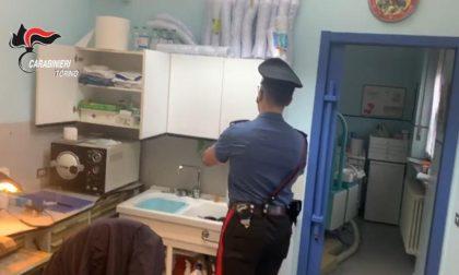 Studio dentistico abusivo scoperto dai Carabinieri
