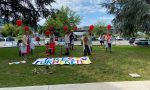 Flash mob per gli ospiti della Rsa Sereni Orizzonti.VIDEO