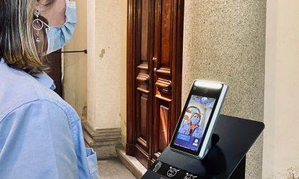 Ospedale Mauriziano: è il primo con postazioni fisse (automatizzate) per rilevare la temperatura. FOTO