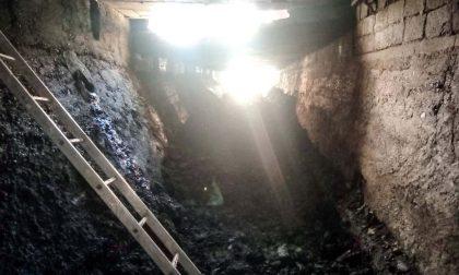Maltempo a San Mauro, liberato il tunnel del rio Sant'Anna