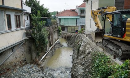 Maltempo a San Mauro, continuano i lavori per rimettere in sicurezza Sant'Anna.