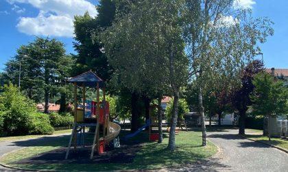 Riapre il parco giochi di via del Giardino