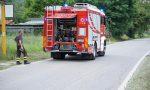 Bruciano macerie, intervengo i Vigili del fuoco