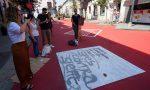 Vandalizzata la nuova pedonale di via Italia, volontari la ripuliscono – FOTO E VIDEO