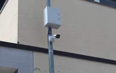 Cinque telecamere per la sicurezza