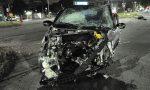 Violento incidente nella notte: tre auto coinvolte