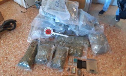 Sequestrati 22 kg di droga in un alloggio a Torino