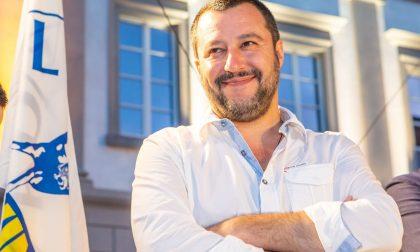 Matteo Salvini a Venaria per tirare la volata al centrodestra IL VIDEOMESSAGGIO