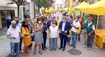 Campagna amica, buona la prima per l'inaugurazione del mercato agricolo di Coldiretti
