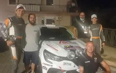 Rally Targa Florio, impresa di Davide Porta