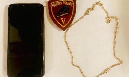 Aggredisce e  scippa una donna: rintracciato e arrestato  grazie al segnale gps del cellulare rubato