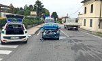 Incidente in via Torino, traffico in tilt per i soccorsi