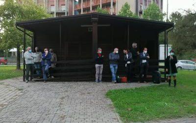 Dopo il lockdown gli incontri tra Comune  e cittadini sono ripartiti dal parco Pertini