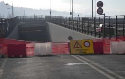 Tunnel di San Mauro, riapertura prevista per lunedì 16 novembre