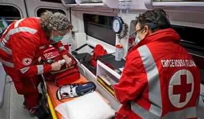 Gli angeli della Croce Rossa tornati in azione nella guerra al Coronavirus. VIDEO