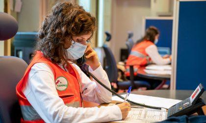 Emergenza Covid, riattivato il numero verde regionale seguito dai volontari Anpas