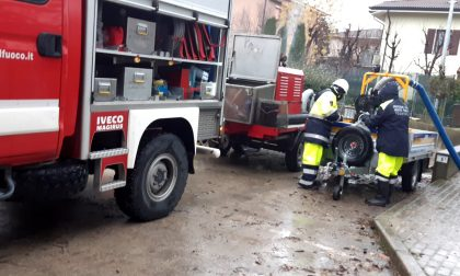 Protezione Civile torinese  rientrata da Modena, a supporto della popolazion alluvionata