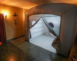 Al San Giuseppe la prima Camera degli abbracci
