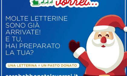 """""""Caro Babbo Natale Vorrei"""", inviaci  la tua letterina e dona un pasto al Banco Alimentare"""