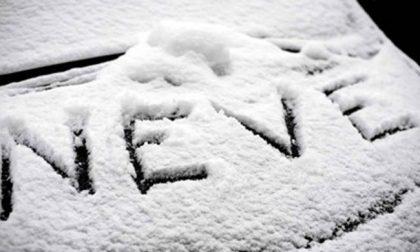 Il 2021 si apre apre con la prima neve dell'anno