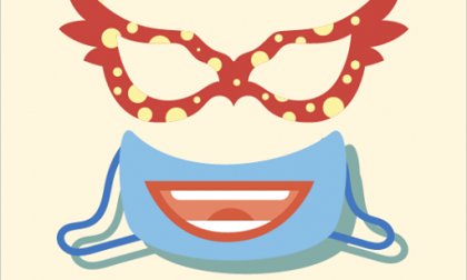 """Decora la tua mascherina con fantasia per partecipare al """"Carnevale in maschera"""" di Castiglione"""