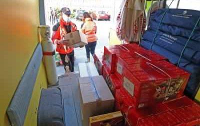 Ripresa la consegna di pacchi spesa e voucher per le famiglie