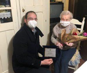 Gli auguri a nonna Giuseppina: ha compiuto 103 anni