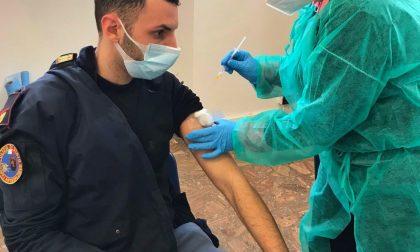 Iniziata la vaccinazione del personale della Polizia di Stato
