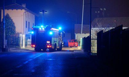 Schianto contro la condotta del metano, fuga di gas a Castiglione