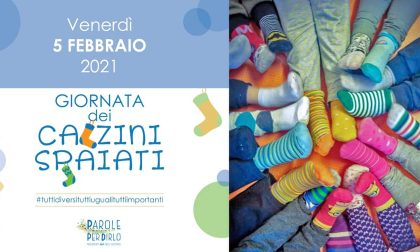 Domani (venerdì 5 febbraio) sarà la Giornata dei calzini spaiati
