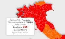 """Cala l'incidenza dei contagi, ma lo scenario per la Città Metropolitana di Torino resta da """"zona rossa"""""""