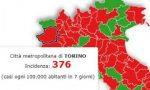 Emergenza Covid,  a picco il dato sull'incidenza dei contagi. Nella città Metropolitana di Torino è 376 (la soglia minima è 250 su 100mila abitanti)