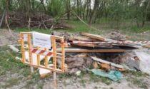 Il bosco dei Goretti trasformato in una discarica