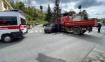 Grave incidente in via Torino: atterra anche l'elisoccorso