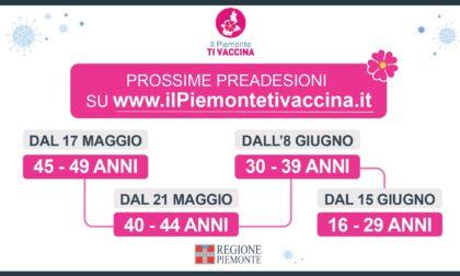 Vaccinazioni anti Covid, da domani (21 maggio 2021) le pre adesioni anche per la fascia d'età 40-44 anni