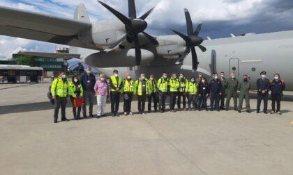 Emergenza Covid in India: partita dall'aeroporto di Torino la missione italiana