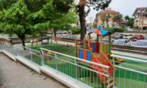 Castiglione, quasi ultimati i lavori per la sistemazione del parco giochi del centro