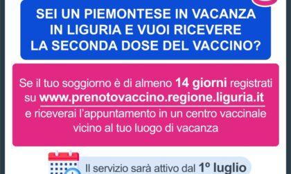 Primo giorno di prenotazioni per le vaccinzioni in vacanza di turisti piemontesi e liguri: 361 richieste