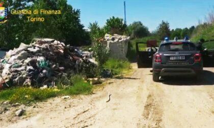 Discarica non autorizzata trovata a Settimo, il blitz della Guardia di Finanza VIDEO