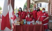 La solidarietà in collina con la raccolta della Croce Rossa